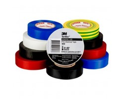 3M Electrical Tapes Rainbow Mix-colour 10pk