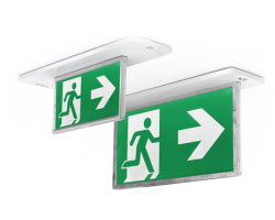 Razor 24M RECESSED EMERGENCY EDGELITE EXIT | ektor | 02686