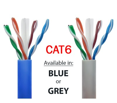 Cat6 Ethernet Network Cables | 305 meter