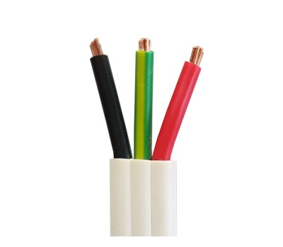 Flat Twin & Earth Cables 100m | 1.5 / 2.5 / 4.0 / 6.0mm | Double Insulated PVC