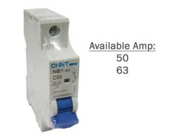 CHINT MCB | NB1-63 1P | Miniature Circuit Breaker 6kA DB | 50A, 63A