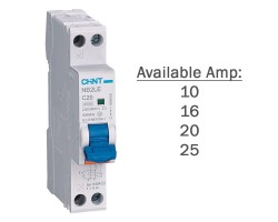 CHINT RCBO 4.5kA | NB2LE | Residual Current Operated Circuit Breaker 1PN