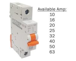 NHP 1 Pole Circuit Breakers MCB 6kA   MOD6-1