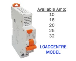 NHP RCBO | 1 Pole Safety Switch MCB RCD Combination 6kA | Loadcentre Model