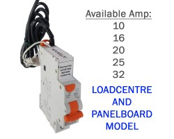 NHP RCBO   1 Pole Safety Switch MCB RCD 6kA   Loadcentre and Panelboard Model