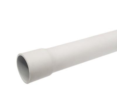 White Electrical Conduit Rigid 4 meters