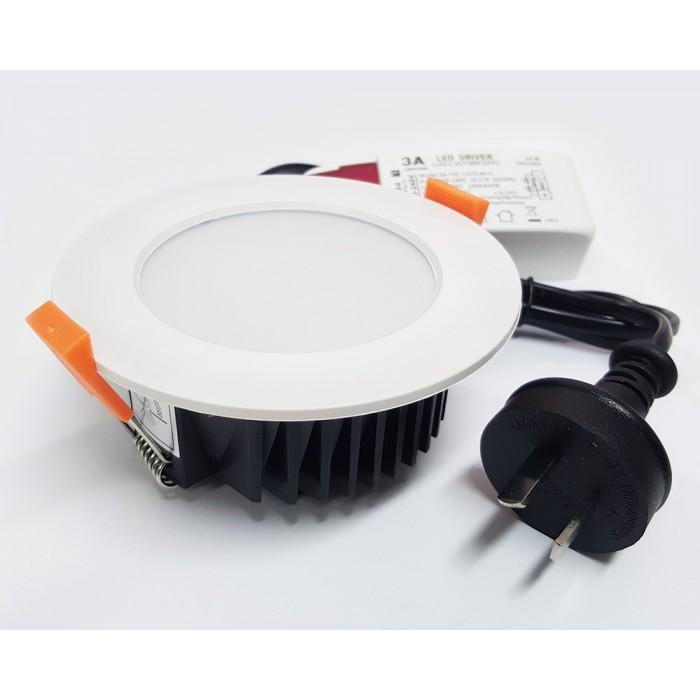 detailed pictures 6d81c c928e 13W LED Downlight | 3A-DL1560 | 890LM, 3K,4K,5K, Tricolor, White Trim