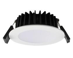 10W Dimmable LED downlight   SAL Ecogem S9041TC   Tri-colour IP44