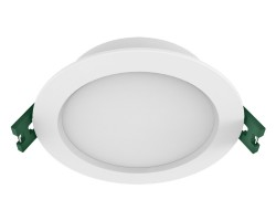 9W Dimmable LED downlight | SAL Trader S9141TC/WH | Tri-colour IP44